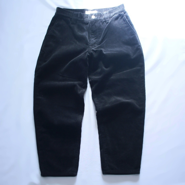 edit-corduroy pants blk