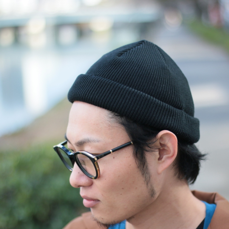 edit-shallow knit-blk