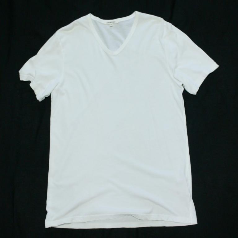 cottoncitizen-classic Vneck-wht