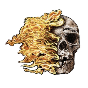 domrebel skull fireのデザイン画