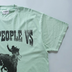 the people vs rodeo vintege tee物撮り画像 3