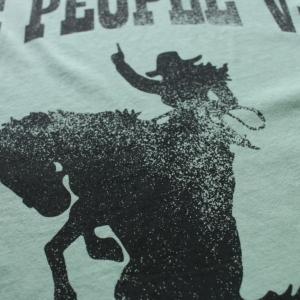 the people vs rodeo vintege tee物撮り画像 5